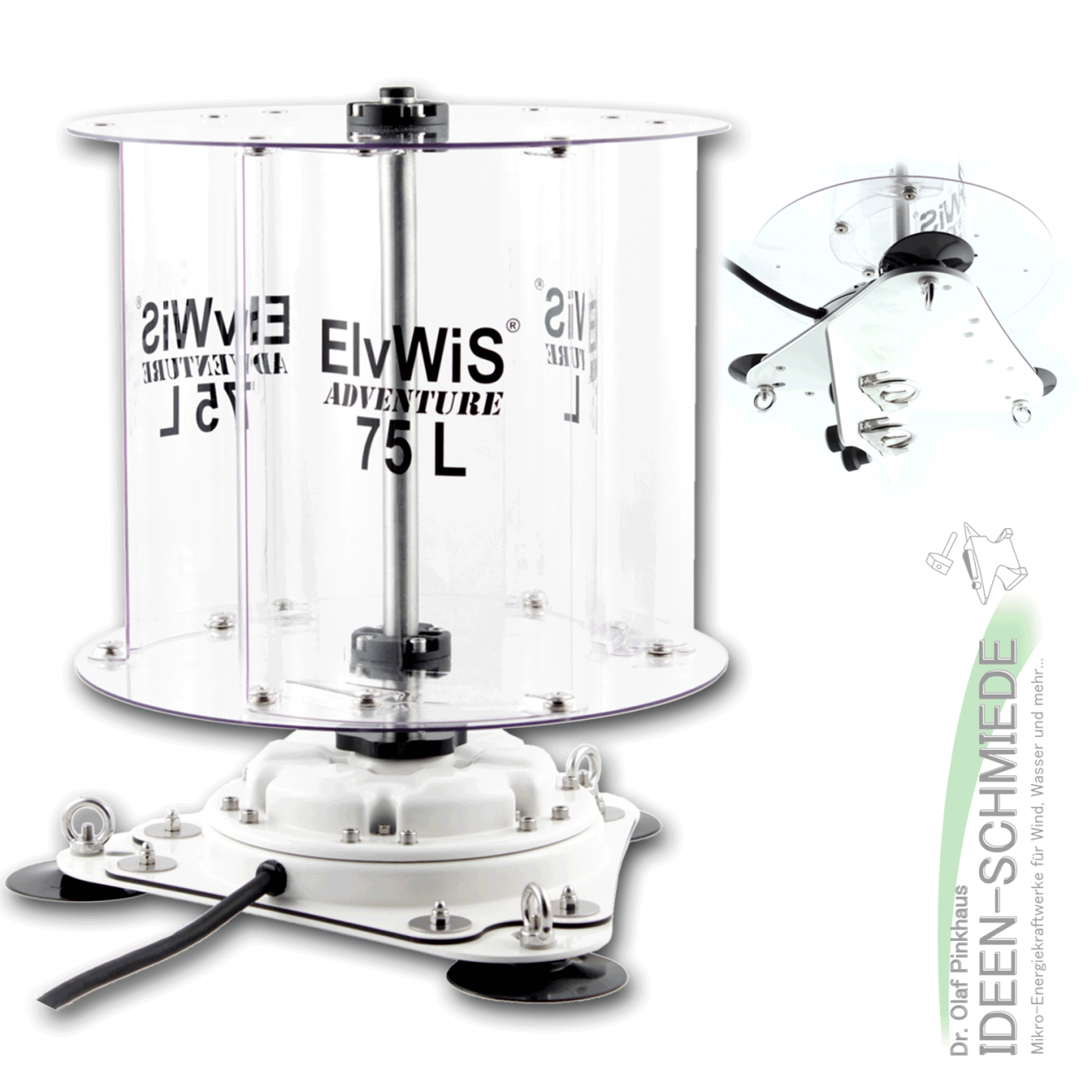 ElvWiS ADVENTURE 75L Premium Compact