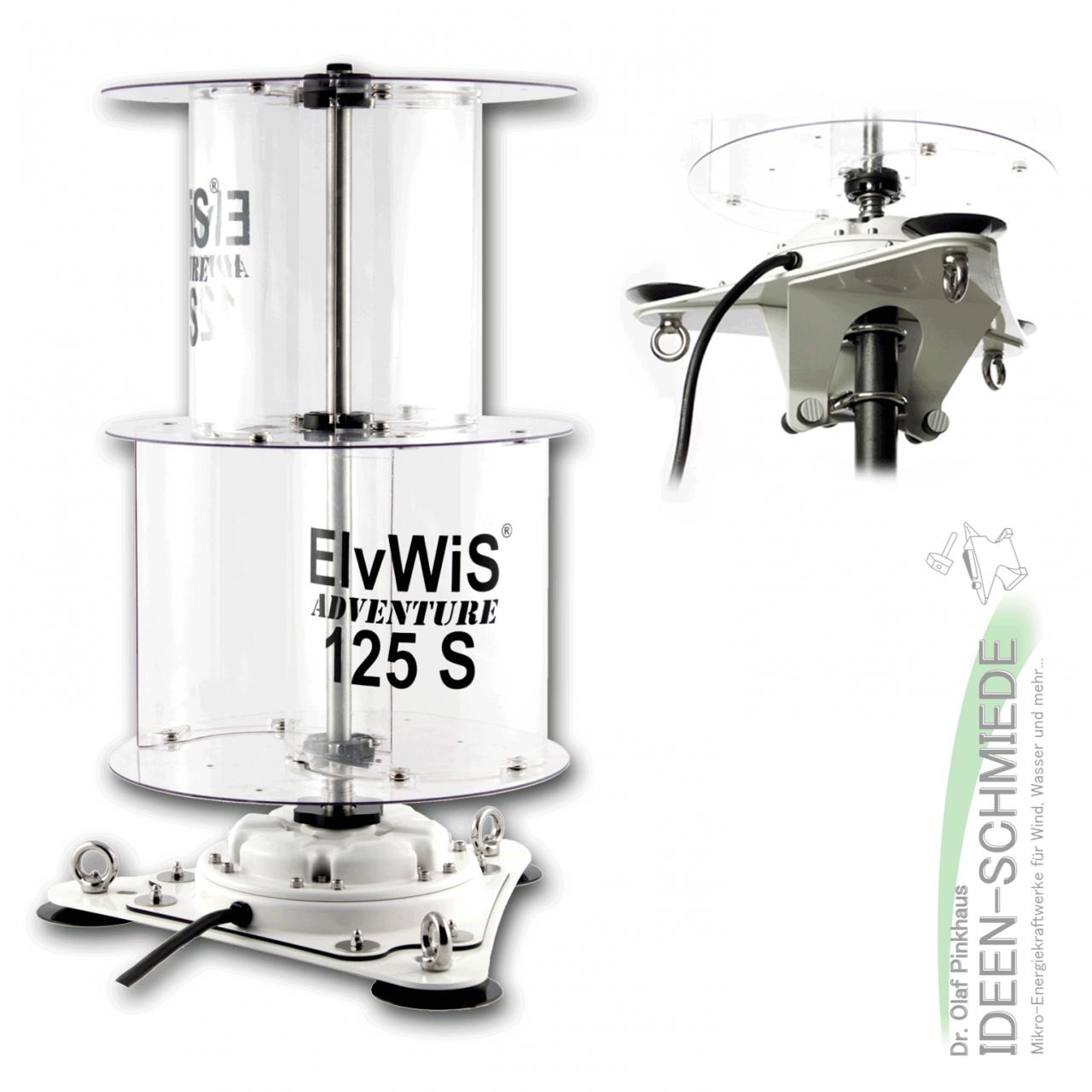 ElvWiS ADVENTURE 125S Premium Extended