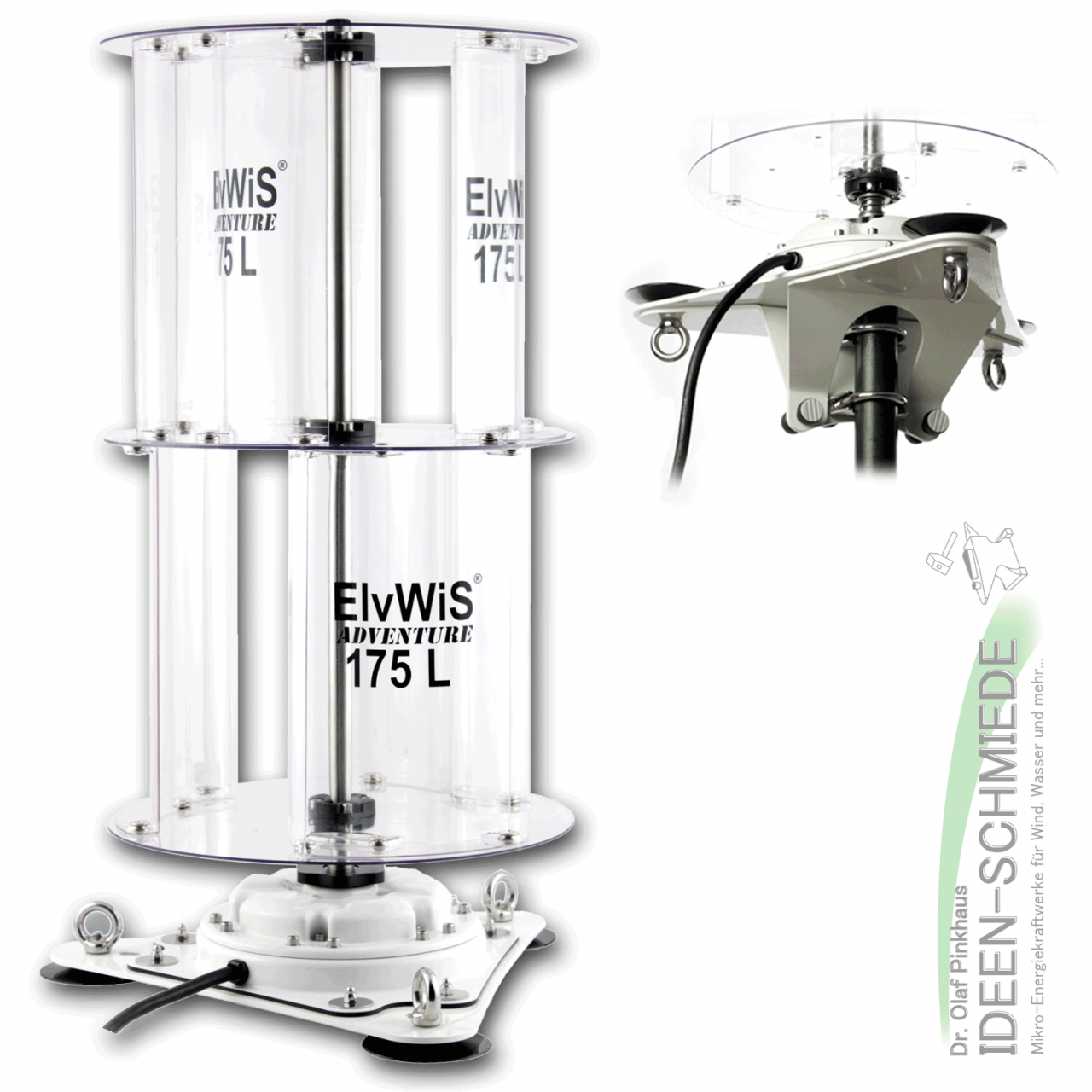 ElvWiS ADVENTURE 175L Premium Extended